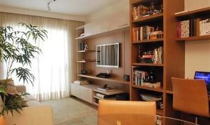Lindo apartamento no Brooklin, viva tranquilamente ao lado de uma estrutura completa de comércio, serviços e lazer e diversos shoppings.